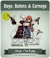 Dogs: Bullets and Carnage - Anime Icon by Darklephise