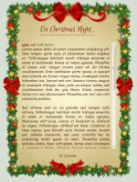 On Christmas Night: CSS Skin by BaB-Jane