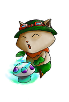 Teemo League of Legends by Erupto