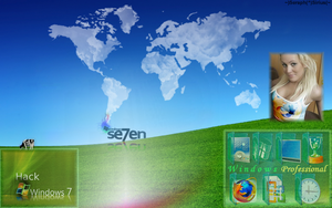 Windows 7 Desktop Theme 7.1 by SeraphSirius