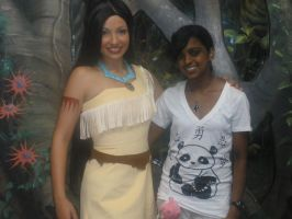 Pocahontas and I by tifanime