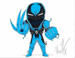 Blue Lantern Anti-Venom by toonartist
