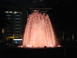 Water fountain by Renaissance Hotel by amyhearts2sing
