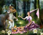 Picnic by roserika