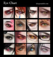 Eye Chart by K-Koji
