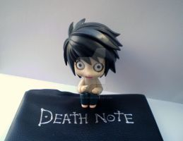 L Freaking Over The Deathnote by HyperInLove