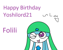 Happy B-Day Yoshilord21 by Shadowismrevilgecko