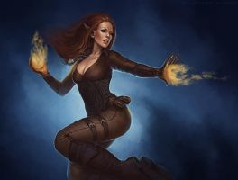 Firethrower by sashulka