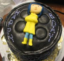 Coraline Cake 1 by hsawaknow