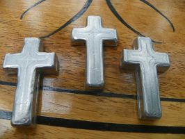 Simple Cast Aluminum Cross's by ydoc16