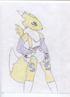Padded Renamon by MyDLSecretLife