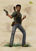 Nathan Drake - Quickie by SurrealisticPillow88