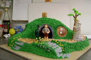 Hobbit Hole Cake v1 by The-EvIl-Plankton