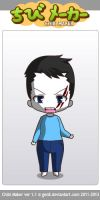 ChibiMaker Microsoft Sam wounded by tigerclaw64