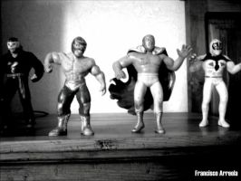 Lucha toys by paquitox