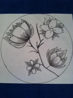 flower portion control plate design by sesha14