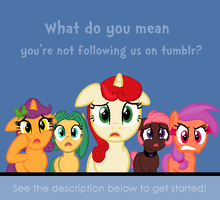 Tumblr Ponies and Such by ZumbaZyn