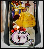 Mrs Potts and Chip Candle Jar by Bonniemarie