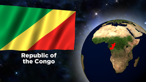 Flag Wallpaper - Congo by darellnonis