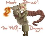 Draco The Wolf-Dragon by pink4ever4u
