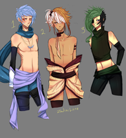 Male ADOPTs CLOSED by milkie-nommi