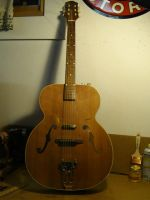 Sherwood modified Electric Acoustic Guitar by VinnyMartello
