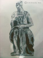 Mose' di Michelangelo by inacloudyday