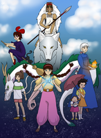 Ghibli Generation by DeeDraws
