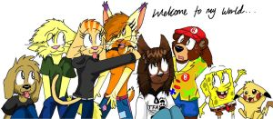 .:Welcome To My World:. by Floppy-Doggie