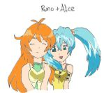 Runo and Alice by Soaker87