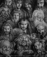 The Dwarves by iamjoanna
