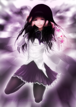 Homura - As many times as it takes... by ConJurer-CJ