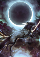 Queen of the Night and Storm by wolf-minori