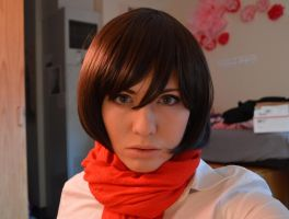 Mikasa Cosplay WIP by Ambilia-Scriba