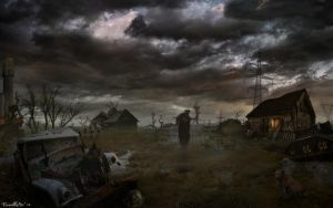 dead marshes by PavellKiD