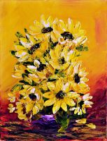 SUNFLOWERS III by ARTBYTERESA