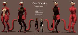 Erin Drake - Mid Size Form by How-to-Date-a-Dragon
