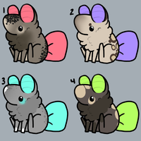 Bubblebutt Adopts by TheseWeirdFishes