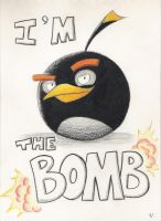 Angry Birds - I'm the Bomb by Shade2903