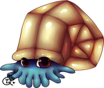 Obkoiq the Omanyte by TheLonelyQueen
