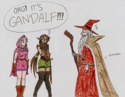 Gandalf the Red by Deorwyn