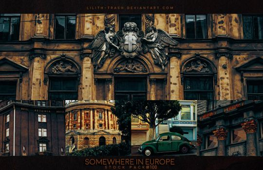 Somewhere in Europe  ( Stock Pack ) by Lilith-Trash