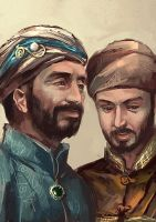 Suleiman and Ibrahim by sunsetagain