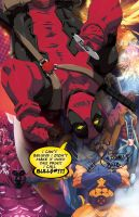 DEADPOOL wasn't invited by theCHAMBA