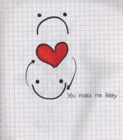 You make me happy by FallOutGirlxD