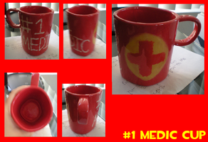 Number 1 Medic Cup by Titan-gurl