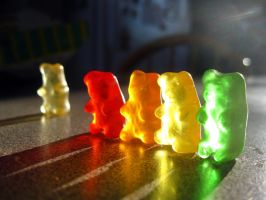 Gummi Bears by fishifishy