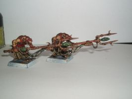 Skaven Packmasters by Brother-Maynard