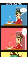 Comic: Mysterious Food by linkfreak131