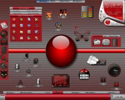 WindowsMAX2 Red + Tabs by TNBrat